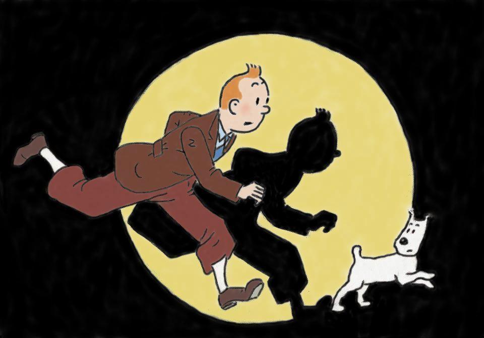 Tintin i farver